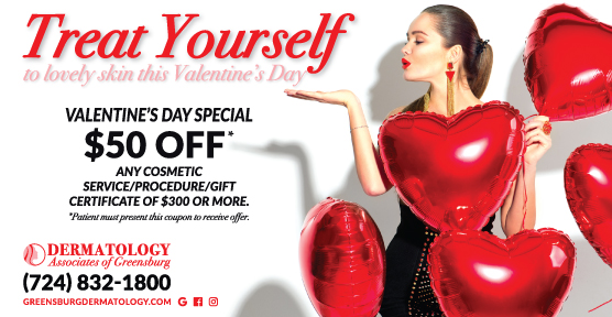 Valentine's Day $50 off coupon image